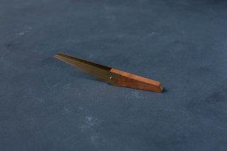 和ろうそく 大與 木と真鍮の芯切りばさみ