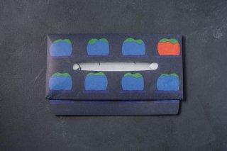SIWA | 紙和 AWATSUJI ティッシュボックスケース リンゴバコ