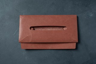 SIWA | 紙和 ティッシュボックスケース Terracotta