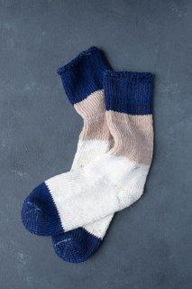 <img class='new_mark_img1' src='https://img.shop-pro.jp/img/new/icons13.gif' style='border:none;display:inline;margin:0px;padding:0px;width:auto;' />ASEEDONCLOUD  アシードンクラウド seasonal socks 靴下 Navy