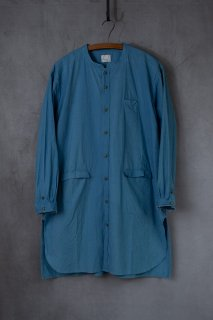 <img class='new_mark_img1' src='https://img.shop-pro.jp/img/new/icons13.gif' style='border:none;display:inline;margin:0px;padding:0px;width:auto;' />【別注】daska  ダスカ  shirt coat シャツ  color : 紺碧