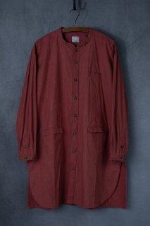 <img class='new_mark_img1' src='https://img.shop-pro.jp/img/new/icons13.gif' style='border:none;display:inline;margin:0px;padding:0px;width:auto;' />【別注】daska  ダスカ  shirt coat シャツ  color : 茜