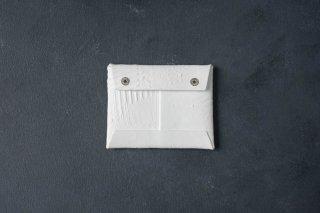 kagari yusuke   カガリユウスケ 封筒型コインケース white