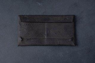 [即売] KAGARI YUSUKE   カガリユウスケ 封筒型長財布 black