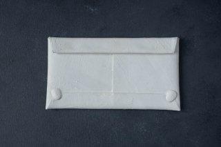 [即売] KAGARI YUSUKE  カガリユウスケ 封筒型長財布 white