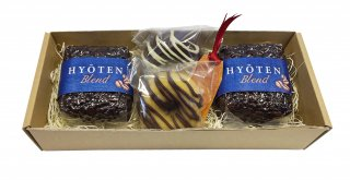 HC-007 スイーツセット(焼きドーナツ2個)&氷点ブレンド(豆)100g 2個入
