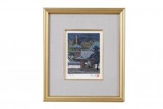 GM-003 リトグラフ『緑影大和』0号 日本画家の巨匠・後藤純男の作品