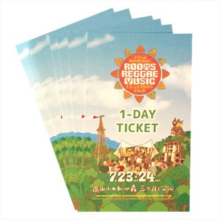Roots Reggae Music Festival 2016 [ 1-DAY TICKET ]