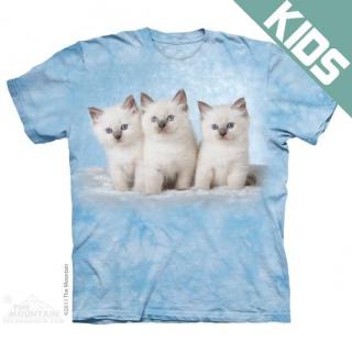 クラウドキティンズ キッズTシャツ (ネコ)