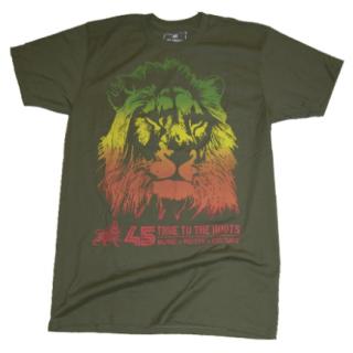 45ライオン Tシャツ(緑)