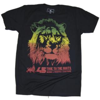 45ライオン Tシャツ(黒)