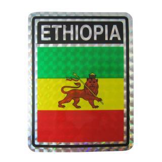 エチオピア ラスタ ライオン ステッカー