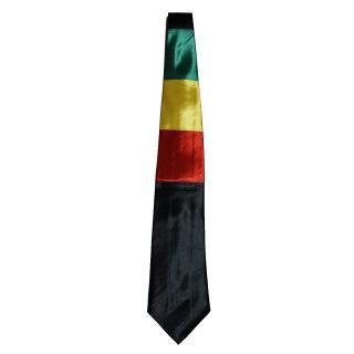 ラスタカラー ブラック ネクタイ
