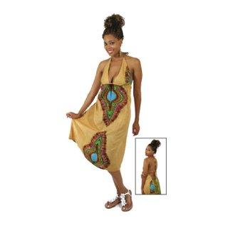 アフリカントラディショナルプリント ワンピース