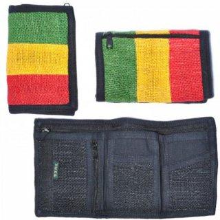 ラスタカラーヘンプ財布