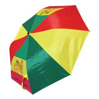 ラスタカラー ジャーライオン 折りたたみ傘