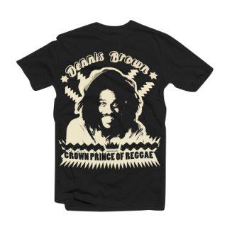 デニス・ブラウン Tシャツ(黒)