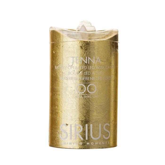 【LEDキャンドル(M)】SIRIUS(シリウス) TENNA ゴールド Mサイズ LEDキャンドルライト