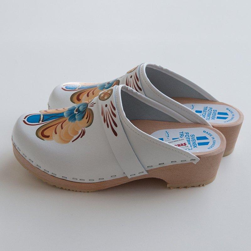 【サボ-25cmホワイト】Grannas(グラナス) Made in スウェーデン サボ SIZE 38(日本サイズ25cm)【19%OFFSALE】【送料無料】