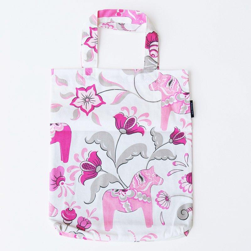 【コットンバッグ】Grannas(グラナス) コットンバッグ ピンク【クリックポスト配送可】