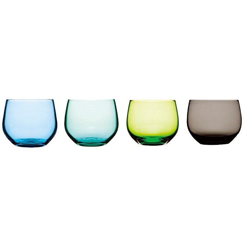 【在庫限り取扱い終了】【タンブラー】sagaform(サガフォルム) Spectra タンブラー 4個セット ブルー