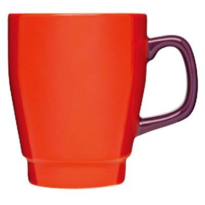 【取扱い終了】【マグカップ】sagaform(サガフォルム) POP mug red/plum