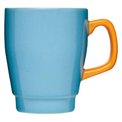 �ڥޥ����åס�sagaform(�����ե����)��POP mug��turquoise/orange