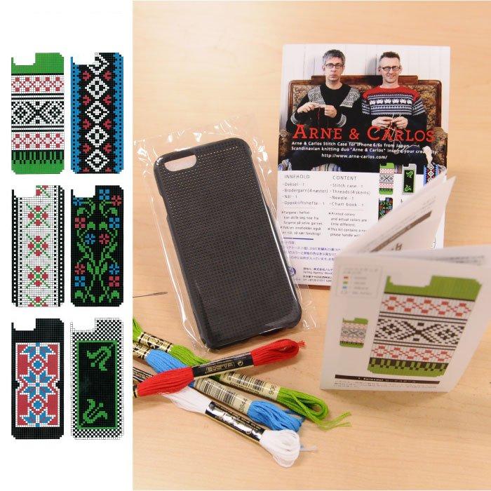 【iphone6/6sケース】アルネ&カルロス iphoneケース ステッチキット Tradition ノルウェー伝統柄【クリックポスト配送可】
