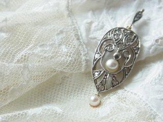 天然真珠のリバティペンダント