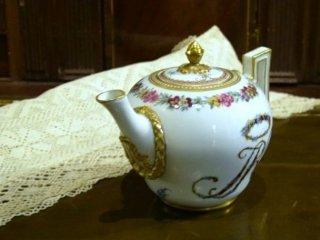 アンティークマイセン・紅茶ポット