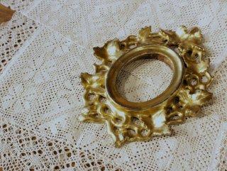 フィレンツェの手彫り&金箔貼りの額縁