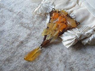 アールヌーボーの妖麗なペンダント