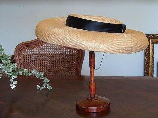 40年代・ニュールックの麦わら帽