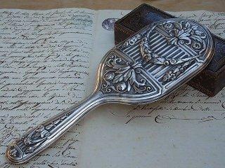 リベルティ時代の銀の手鏡