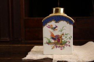 古マイセン・極楽鳥たちの紅茶壺