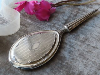 インペリアル様式の銀の手鏡