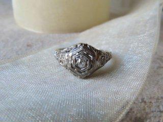 アールデコWGダイヤモンドリング