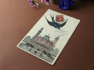 アンティーク絵葉書『トロカデロ宮殿』