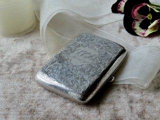 1903年製の銀シガレットケース