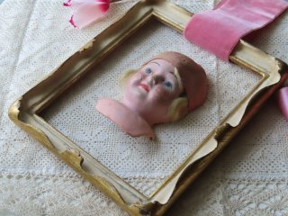 アールデコ時代の少女の額装キット