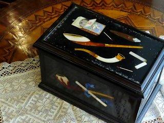 フローレンスモザイクの喫煙道具箱