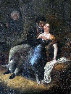 19世紀初頭の「恋の駆け引き」