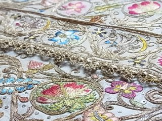 1780年頃のイタリア古典刺繍