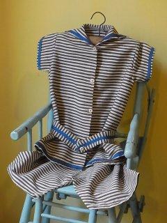 夏季学校の子供用セーラー服