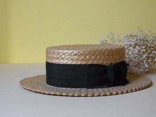 1910年頃の外出用の麦藁帽子