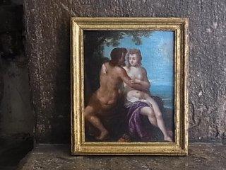 油彩画・マルスとヴィーナス