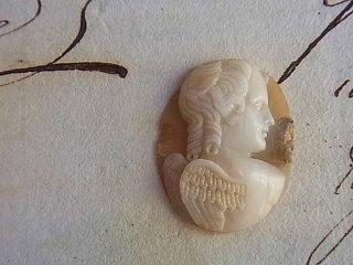 18世紀の天使のカメオルース