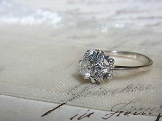 40'ブリリアントダイヤのリング