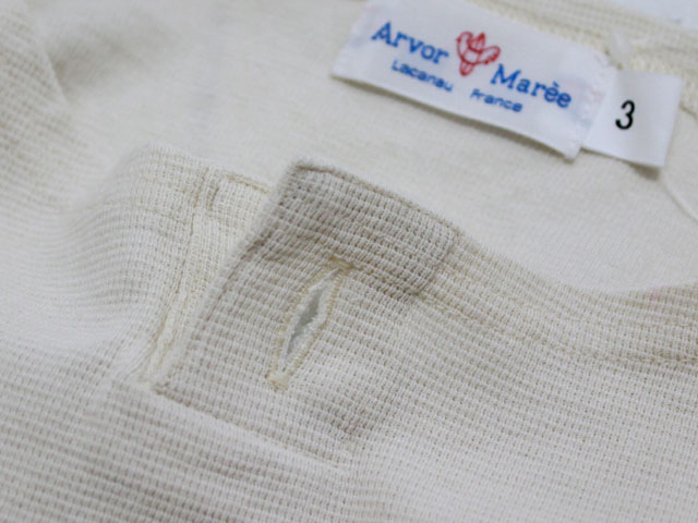 ARVOR MAREE(アルボーマレー) BASQUE KNIT SOLID (1BT-BQS-SO)