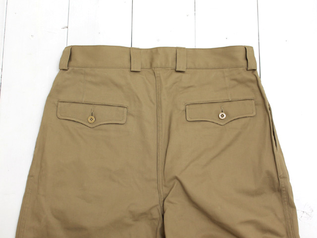 A VONTADE (アボンタージ) <br>French Mill 2 Tac Chino Trousers/ KHAKI (VTD-0432-PT)